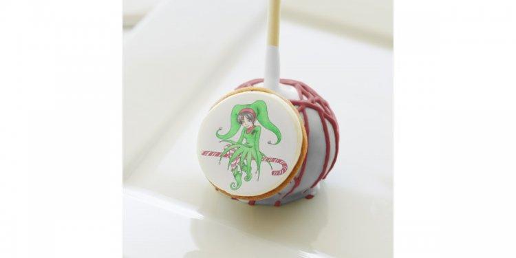 Candy Cane Elf De De