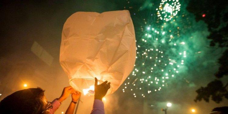 New Year: Celebrations mark
