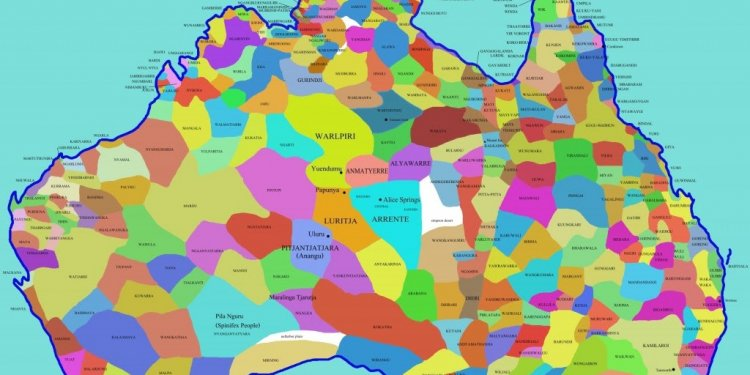 MAP: Australian indigenous