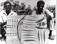 Bark Painting, Evans Collection Northern Territory Library