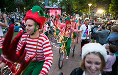 Cycling Elves, Hyde Park