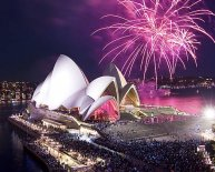 New Year celebrations in Australia